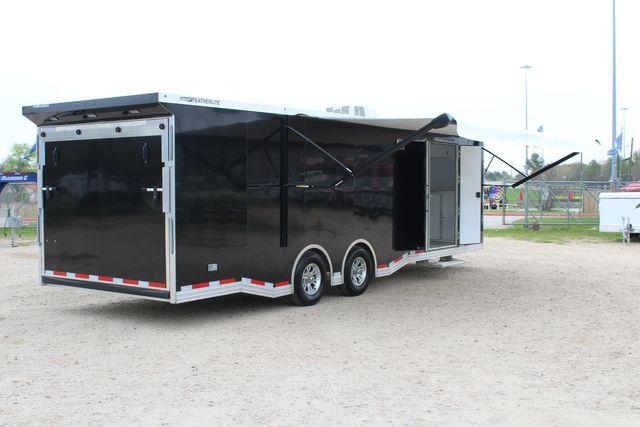 """2020 Featherlite 4410-0028 4410 28' enclosed car trailer - 8'6"""" W x 7'0"""" H CONROE, TX 27"""