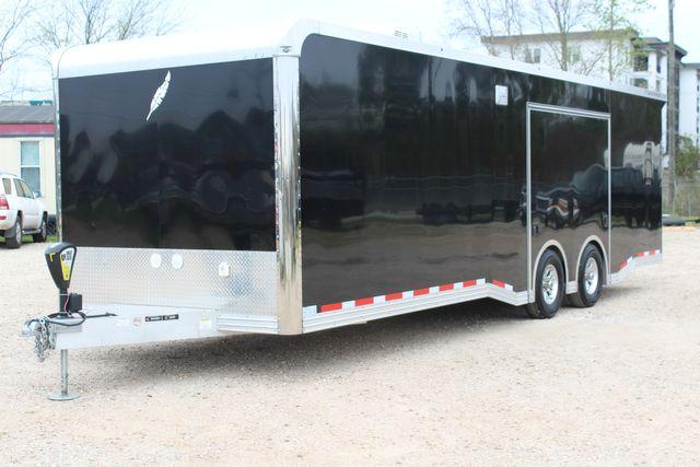 """2020 Featherlite 4410-0028 4410 28' enclosed car trailer - 8'6"""" W x 7'0"""" H CONROE, TX 7"""