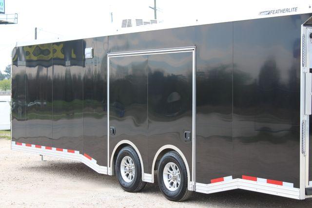 """2020 Featherlite 4410-0028 4410 28' enclosed car trailer - 8'6"""" W x 7'0"""" H CONROE, TX 13"""