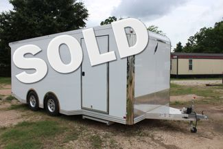 2020 Featherlite 4410 - ENCLOSED CAR TRAILER 20' ENCLOSED RACE CAR TRAILER W/ PREM ESCAPE DOOR CONROE, TX