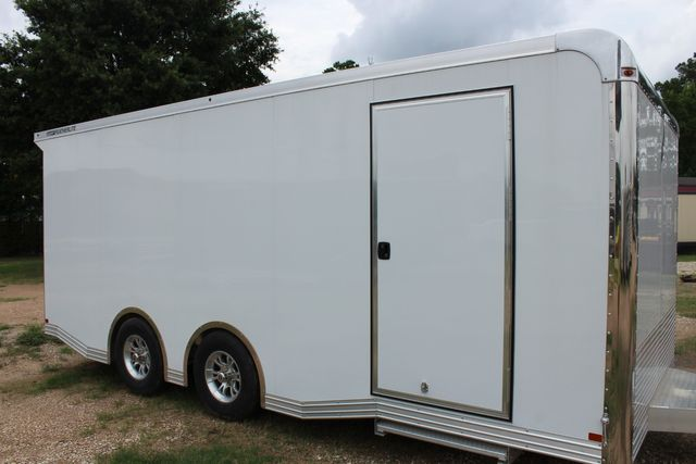 2020 Featherlite 4410 - ENCLOSED CAR TRAILER 20' ENCLOSED RACE CAR TRAILER W/ PREM ESCAPE DOOR CONROE, TX 1