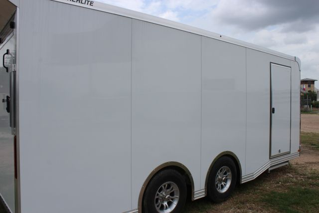 2020 Featherlite 4410 - ENCLOSED CAR TRAILER 20' ENCLOSED RACE CAR TRAILER W/ PREM ESCAPE DOOR CONROE, TX 28