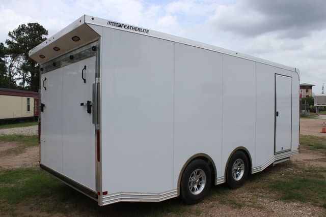 2020 Featherlite 4410 - ENCLOSED CAR TRAILER 20' ENCLOSED RACE CAR TRAILER W/ PREM ESCAPE DOOR CONROE, TX 29