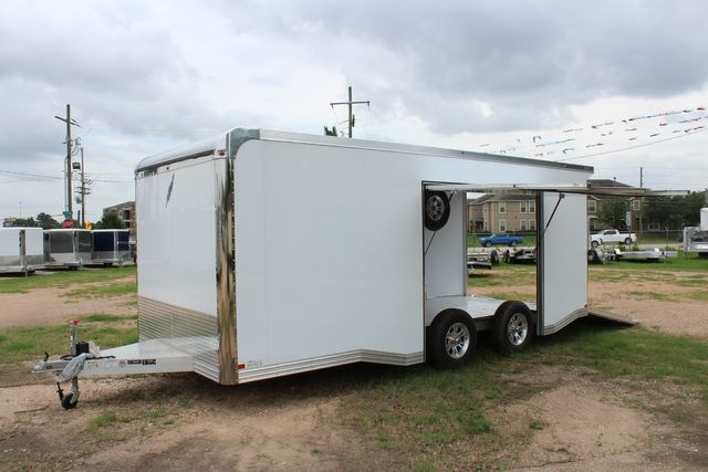 2020 Featherlite 4410 - ENCLOSED CAR TRAILER 20' ENCLOSED RACE CAR TRAILER W/ PREM ESCAPE DOOR CONROE, TX 8