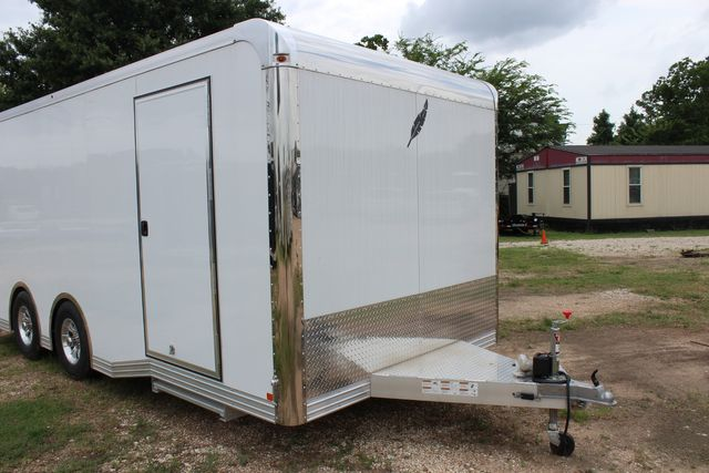 2020 Featherlite 4410 - ENCLOSED CAR TRAILER 20' ENCLOSED RACE CAR TRAILER W/ PREM ESCAPE DOOR CONROE, TX 2
