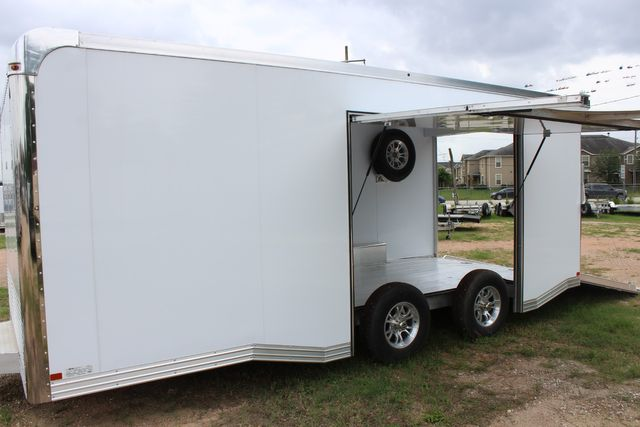 2020 Featherlite 4410 - ENCLOSED CAR TRAILER 20' ENCLOSED RACE CAR TRAILER W/ PREM ESCAPE DOOR CONROE, TX 6