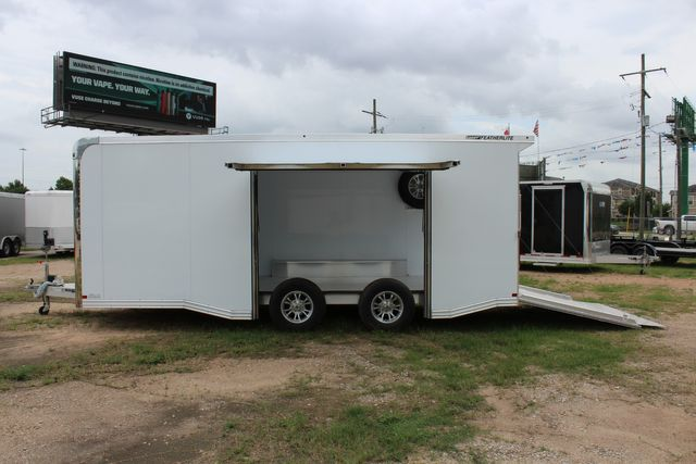 2020 Featherlite 4410 - ENCLOSED CAR TRAILER 20' ENCLOSED RACE CAR TRAILER W/ PREM ESCAPE DOOR CONROE, TX 11