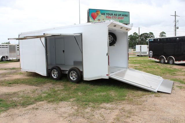 2020 Featherlite 4410 - ENCLOSED CAR TRAILER 20' ENCLOSED RACE CAR TRAILER W/ PREM ESCAPE DOOR CONROE, TX 14