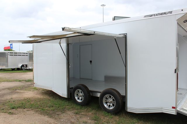 2020 Featherlite 4410 - ENCLOSED CAR TRAILER 20' ENCLOSED RACE CAR TRAILER W/ PREM ESCAPE DOOR CONROE, TX 17