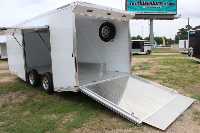 2020 Featherlite 4410 - ENCLOSED CAR TRAILER 20' ENCLOSED RACE CAR TRAILER W/ PREM ESCAPE DOOR CONROE, TX 15