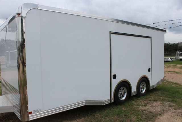 2020 Featherlite 4410 - ENCLOSED CAR TRAILER 20' ENCLOSED RACE CAR TRAILER W/ PREM ESCAPE DOOR CONROE, TX 5