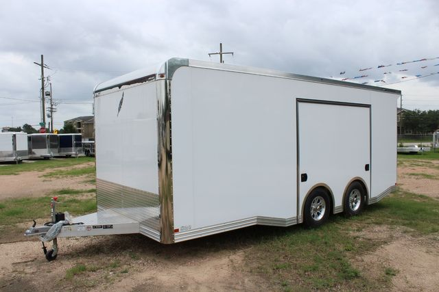 2020 Featherlite 4410 - ENCLOSED CAR TRAILER 20' ENCLOSED RACE CAR TRAILER W/ PREM ESCAPE DOOR CONROE, TX 7