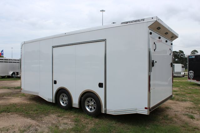 2020 Featherlite 4410 - ENCLOSED CAR TRAILER 20' ENCLOSED RACE CAR TRAILER W/ PREM ESCAPE DOOR CONROE, TX 13