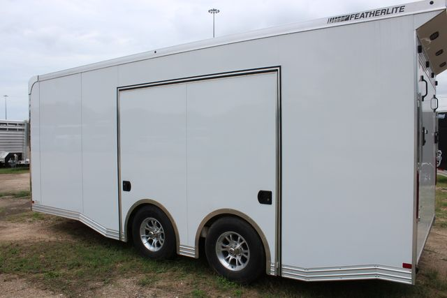 2020 Featherlite 4410 - ENCLOSED CAR TRAILER 20' ENCLOSED RACE CAR TRAILER W/ PREM ESCAPE DOOR CONROE, TX 16