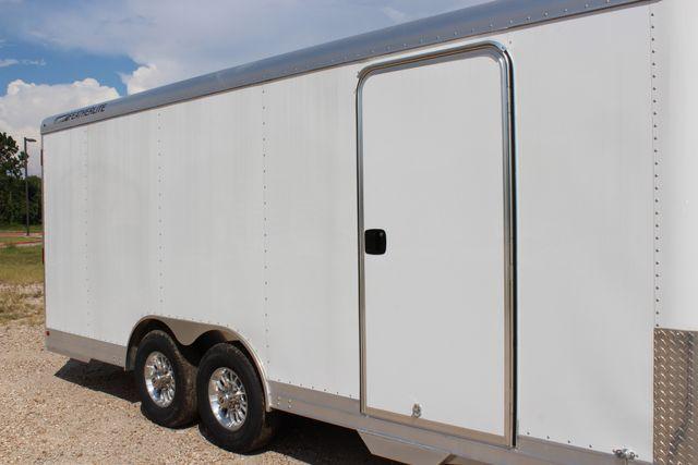 2020 Featherlite 4926 - 20 20' ENCLOSED CAR HAULER CONROE, TX 1