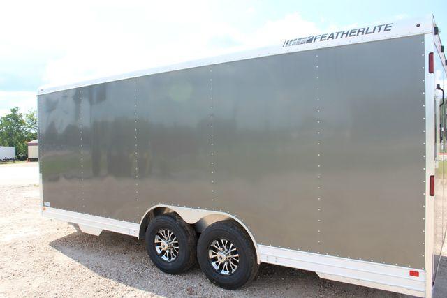 2020 Featherlite 4926 20' ENCLOSED CAR HAULER CONROE, TX 14