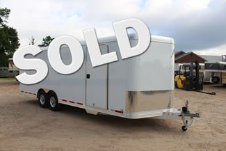 2020 Featherlite 4926 24' ENCLOSED BUMPER PULL CAR HAULER 7' TALL CONROE, TX