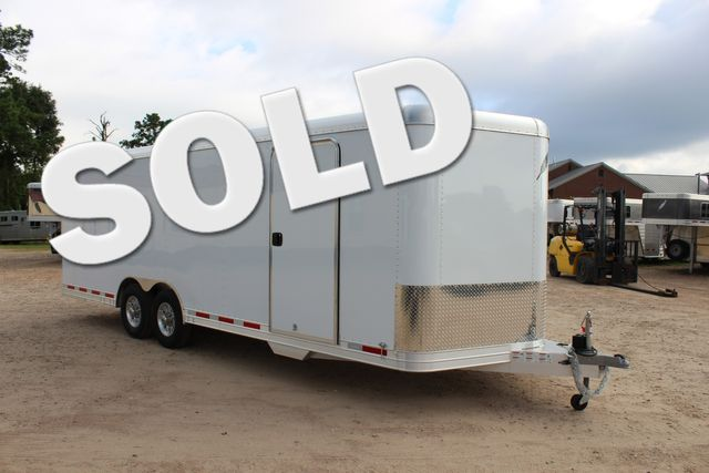 2020 Featherlite 4926 - 24 24' ENCLOSED BUMPER PULL CAR HAULER 7' TALL CONROE, TX 0