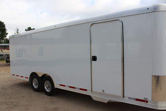 2020 Featherlite 4926 - 24 24' ENCLOSED BUMPER PULL CAR HAULER 7' TALL CONROE, TX 1