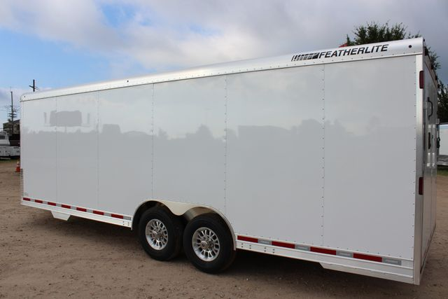 2020 Featherlite 4926 24' ENCLOSED BUMPER PULL CAR HAULER 7' TALL CONROE, TX 10