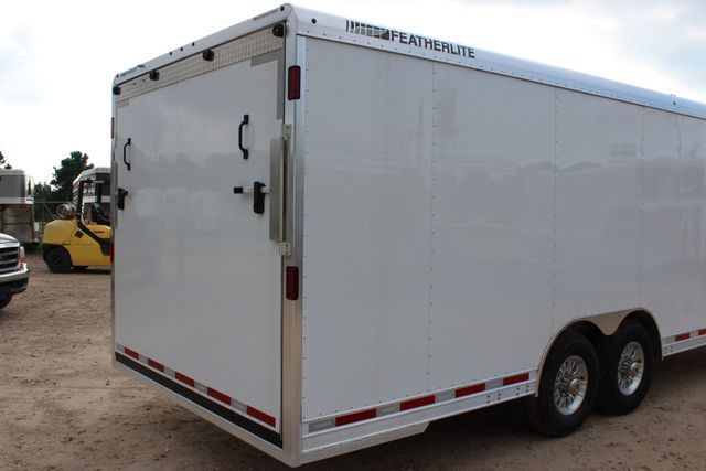 2020 Featherlite 4926 - 24 24' ENCLOSED BUMPER PULL CAR HAULER 7' TALL CONROE, TX 21