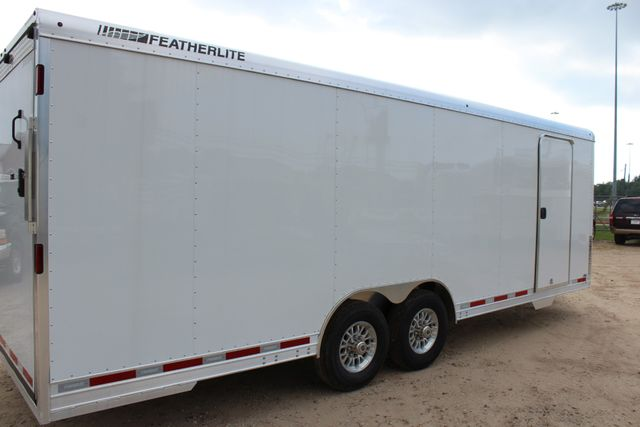 2020 Featherlite 4926 24' ENCLOSED BUMPER PULL CAR HAULER 7' TALL CONROE, TX 23
