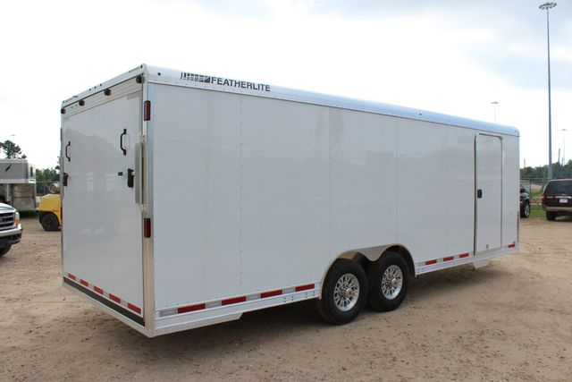 2020 Featherlite 4926 24' ENCLOSED BUMPER PULL CAR HAULER 7' TALL CONROE, TX 24