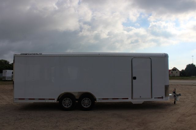 2020 Featherlite 4926 24' ENCLOSED BUMPER PULL CAR HAULER 7' TALL CONROE, TX 25