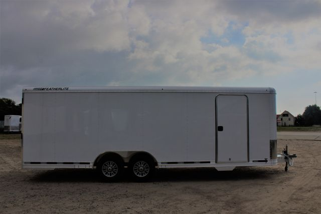 2020 Featherlite 4926 24' ENCLOSED BUMPER PULL CAR HAULER 7' TALL CONROE, TX 26