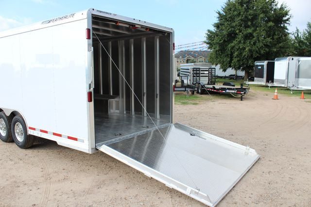 2020 Featherlite 4926 24' ENCLOSED BUMPER PULL CAR HAULER 7' TALL CONROE, TX 12