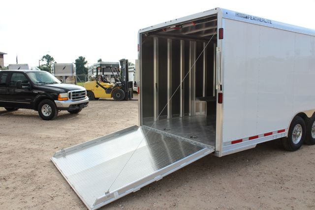 2020 Featherlite 4926 - 24 24' ENCLOSED BUMPER PULL CAR HAULER 7' TALL CONROE, TX 22