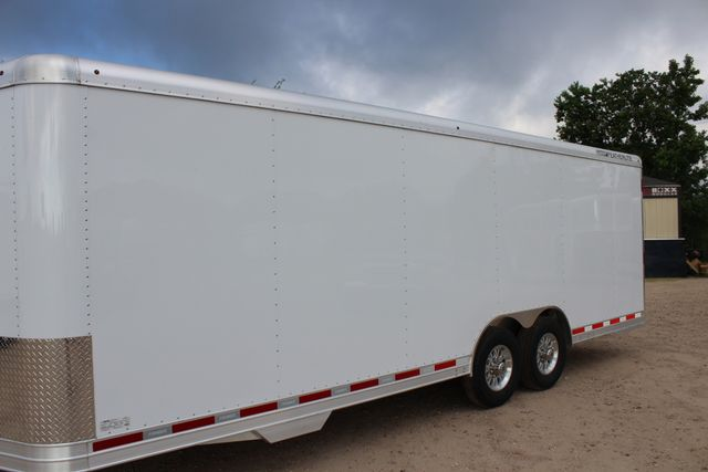 2020 Featherlite 4926 24' ENCLOSED BUMPER PULL CAR HAULER 7' TALL CONROE, TX 6