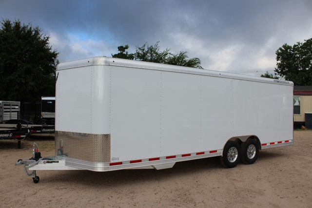 2020 Featherlite 4926 - 24 24' ENCLOSED BUMPER PULL CAR HAULER 7' TALL CONROE, TX 7