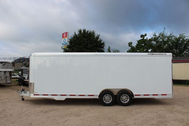 2020 Featherlite 4926 - 24 24' ENCLOSED BUMPER PULL CAR HAULER 7' TALL CONROE, TX 8