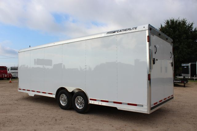 2020 Featherlite 4926 - 24 24' ENCLOSED BUMPER PULL CAR HAULER 7' TALL CONROE, TX 9