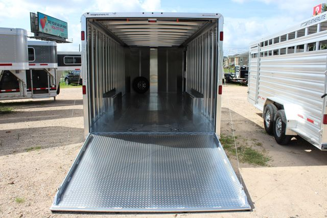 2020 Featherlite 4926 - 24 24' ENCLOSED BUMPER PULL CAR HAULER 7' TALL CONROE, TX 14