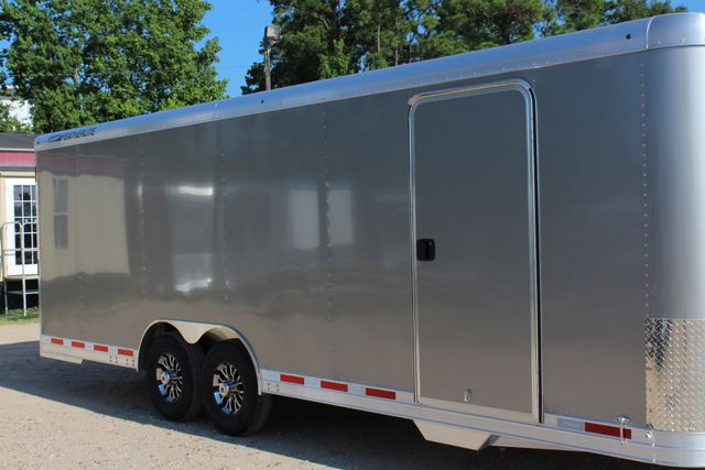 2020 Featherlite 4926 24' ENCLOSED BUMPER PULL CAR TRAILER 8.5' WIDE 7'T CONROE, TX 1