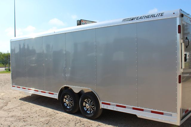 2020 Featherlite 4926 24' ENCLOSED BUMPER PULL CAR TRAILER 8.5' WIDE 7'T CONROE, TX 10