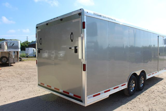 2020 Featherlite 4926 24' ENCLOSED BUMPER PULL CAR TRAILER 8.5' WIDE 7'T CONROE, TX 19
