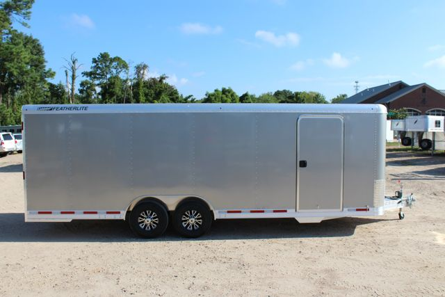 2020 Featherlite 4926 24' ENCLOSED BUMPER PULL CAR TRAILER 8.5' WIDE 7'T CONROE, TX 22