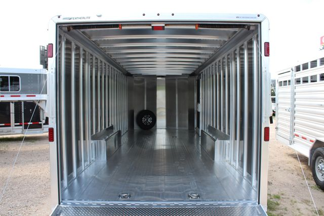 2020 Featherlite 4926 24' ENCLOSED BUMPER PULL CAR TRAILER 8.5' WIDE 7'T CONROE, TX 16