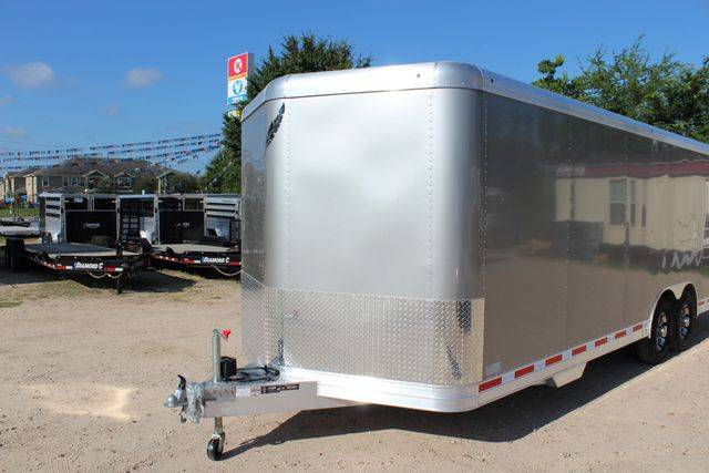 2020 Featherlite 4926 24' ENCLOSED BUMPER PULL CAR TRAILER 8.5' WIDE 7'T CONROE, TX 5