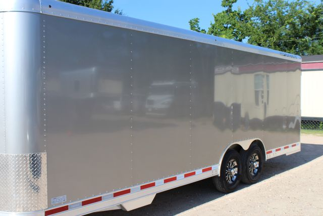 2020 Featherlite 4926 24' ENCLOSED BUMPER PULL CAR TRAILER 8.5' WIDE 7'T CONROE, TX 6