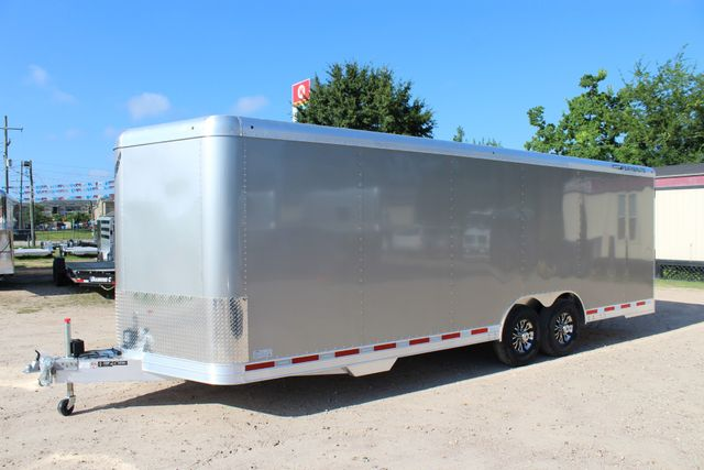 2020 Featherlite 4926 24' ENCLOSED BUMPER PULL CAR TRAILER 8.5' WIDE 7'T CONROE, TX 7