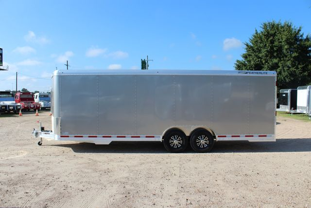 2020 Featherlite 4926 24' ENCLOSED BUMPER PULL CAR TRAILER 8.5' WIDE 7'T CONROE, TX 8