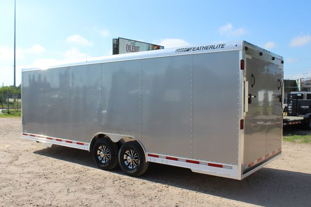 2020 Featherlite 4926 24' ENCLOSED BUMPER PULL CAR TRAILER 8.5' WIDE 7'T CONROE, TX 9