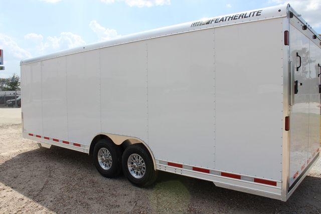 2020 Featherlite 4926 24' BUMPER PULL ENCLOSED CAR HAULER CONROE, TX 10
