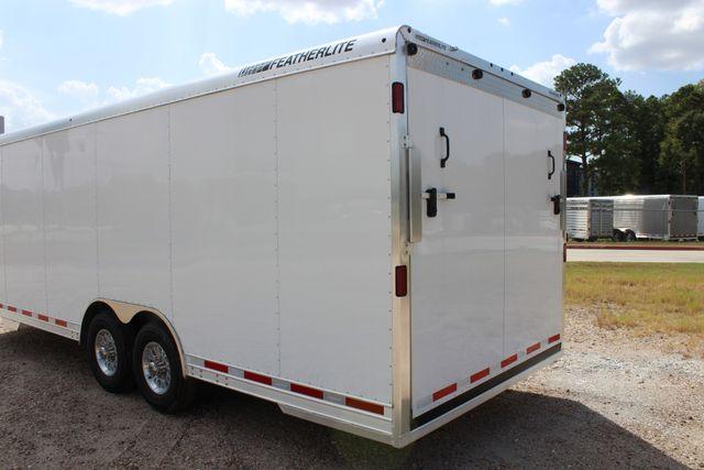 2020 Featherlite 4926 24' BUMPER PULL ENCLOSED CAR HAULER CONROE, TX 11