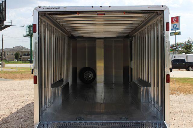 2020 Featherlite 4926 24' BUMPER PULL ENCLOSED CAR HAULER CONROE, TX 17
