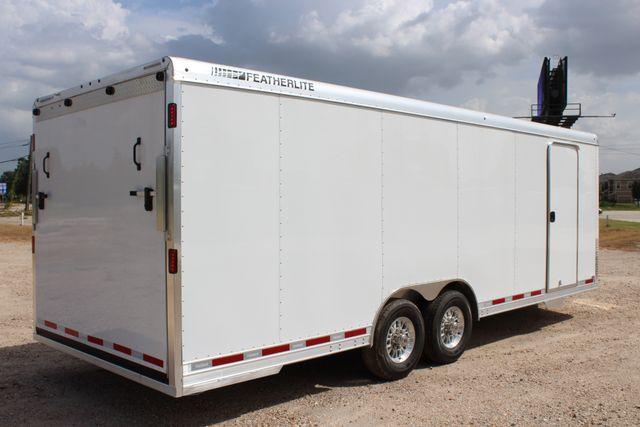 2020 Featherlite 4926 24' BUMPER PULL ENCLOSED CAR HAULER CONROE, TX 25